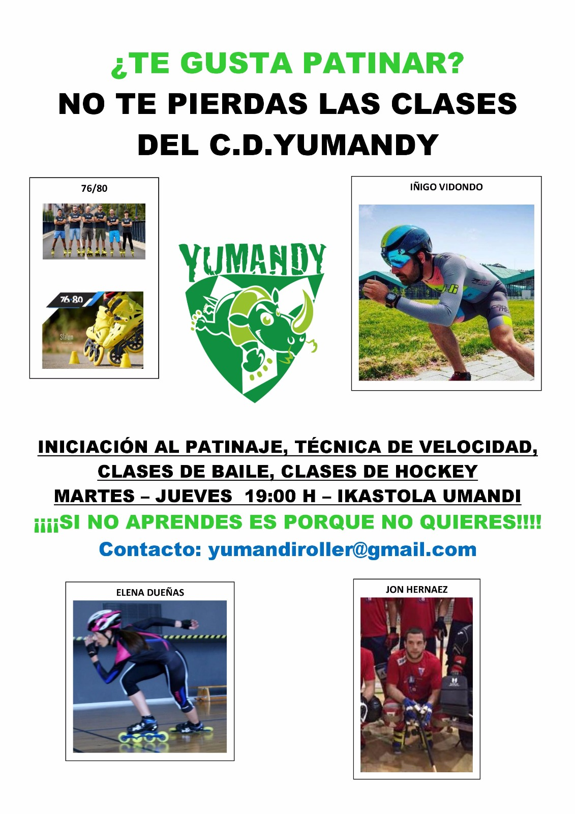 Cartel Yumandy 2018-2019